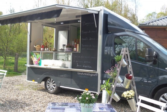 Food-truck Baie de Somme. Ludovic Dupont, ch'camion-tchuisine
